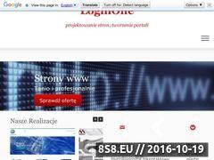 Miniaturka loginone.pl (Tworzenie stron internetowych)
