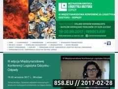 Miniaturka domeny www.logistykaodzysku.com