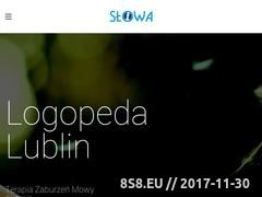 Miniaturka logopeda.lublin.pl (Gabinet logopedyczny - terapia diagnoza logopeda)