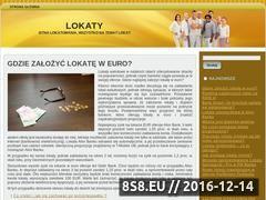 Miniaturka domeny www.lokatomania.pl