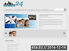 Miniaturka domeny lombard24.com.pl