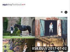 Miniaturka lookbook.equishop.com (Przegląd mody jeździeckiej)