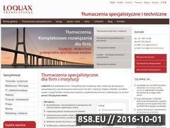 Miniaturka domeny www.loquax.pl