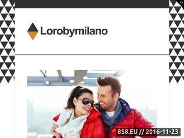 Zrzut strony Skarpety na każdą okazję, Lorobymilano.pl
