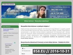Miniaturka domeny www.lotnicze-linie.pl