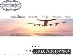 Miniaturka lotnicze.pl (Wyjazdy służbowe - obsługa)