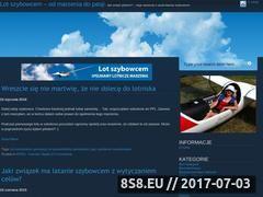 Miniaturka lotszybowcem24.pl (Lot szybowcem - od marzenia do pasji)
