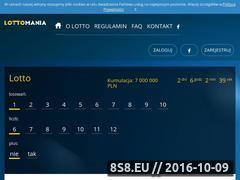 Miniaturka Lotto przez Internet (lottomania.com.pl)