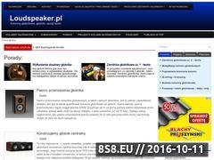 Miniaturka loudspeaker.pl (Wszystko o profesjonalnym nagłośnieniu w domu)