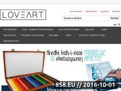 Miniaturka domeny loveart.pl