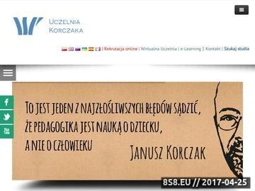 Zrzut strony WSP im. J. Korczaka w Lublinie