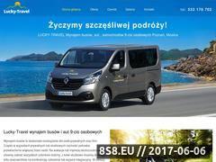 Miniaturka lucky-travel.pl (Wynajem busów)