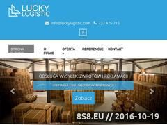Miniaturka domeny luckylogistic.com