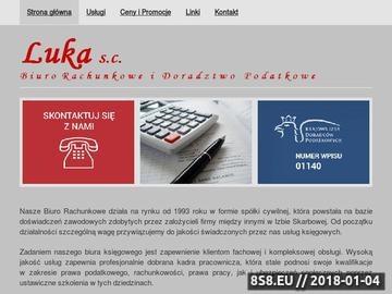 Zrzut strony Biuro Rachunkowe Kraków