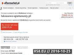 Miniaturka domeny www.luksusowe-apartamenty.pl