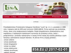 Miniaturka domeny www.luna.gorlice.pl