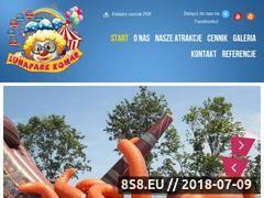 Miniaturka lunapark-komar.pl (Lunapark Komar - atrakcje na festyny dla dzieci)