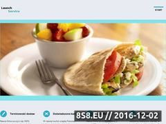 Miniaturka domeny www.lunch-service.com.pl