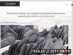 Miniaturka domeny www.lupeknadach.pl