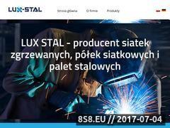 Miniaturka domeny lux-stal.pl