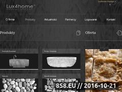 Miniaturka domeny www.lux4home.pl