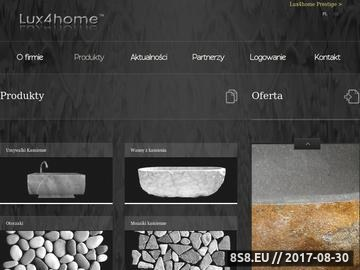 Zrzut strony Umywalki kamienne