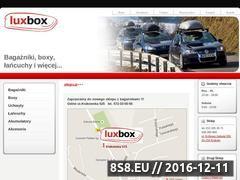 Miniaturka domeny www.luxbox.pl