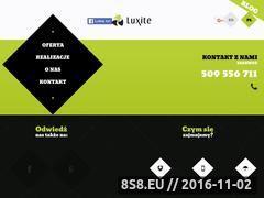 Miniaturka domeny www.luxite.pl
