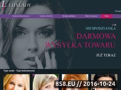 Miniaturka domeny www.luxlady.pl