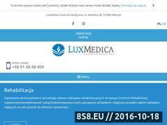Miniaturka domeny www.luxmedica.pl