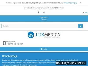 Zrzut strony Zabiegi rehabilitacyjne w Szczecinie
