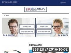 Miniaturka domeny www.luxokulary.pl