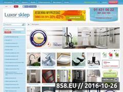 Miniaturka domeny www.luxor-sklep.pl