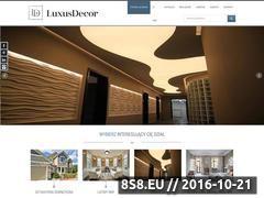 Miniaturka domeny www.luxusdecor.eu