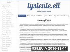 Miniaturka domeny www.lysienie.eu
