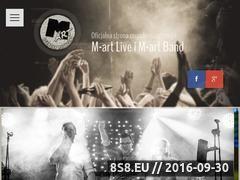 Miniaturka m-artband.pl (<strong>zespół muzyczny</strong> na żywo na wesele oraz imprezę)