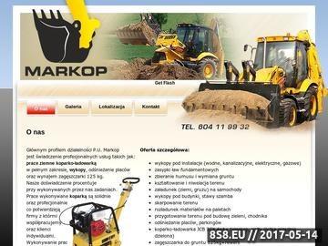 Zrzut strony Koparko ładowarka Gdańsk