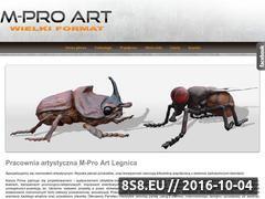Miniaturka domeny m-pro.pl