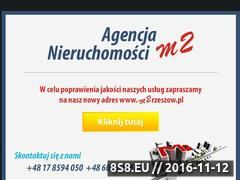 Miniaturka domeny www.m2.nieruchomosci.pl