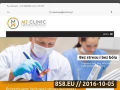 Miniaturka domeny m2clinic.pl
