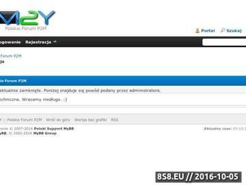 Zrzut strony M2Y Letty Ygoow Moorhunt Mailshare Polskie Forum P2M