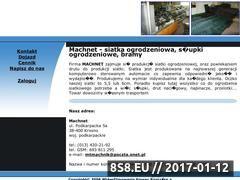 Miniaturka domeny machnet.com.pl