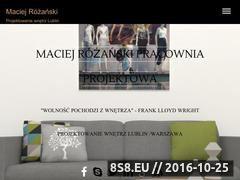 Miniaturka domeny maciejrozanski.pl