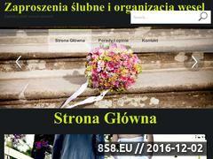 Miniaturka domeny www.madleine.pl