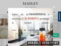 Miniaturka domeny madley.pl