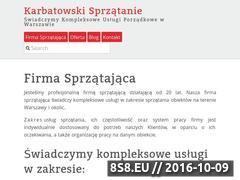 Miniaturka domeny magdziarzsprzatanie.pl