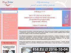 Miniaturka domeny magiasnow.waw.pl