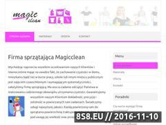 Miniaturka domeny www.magicclean.pl