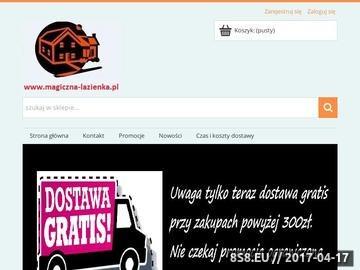 Zrzut strony Akcesoria łazienkowe, wyposażenie łazienek, magiczna-łazienka.pl