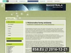Miniaturka domeny magistrala.blog.pl